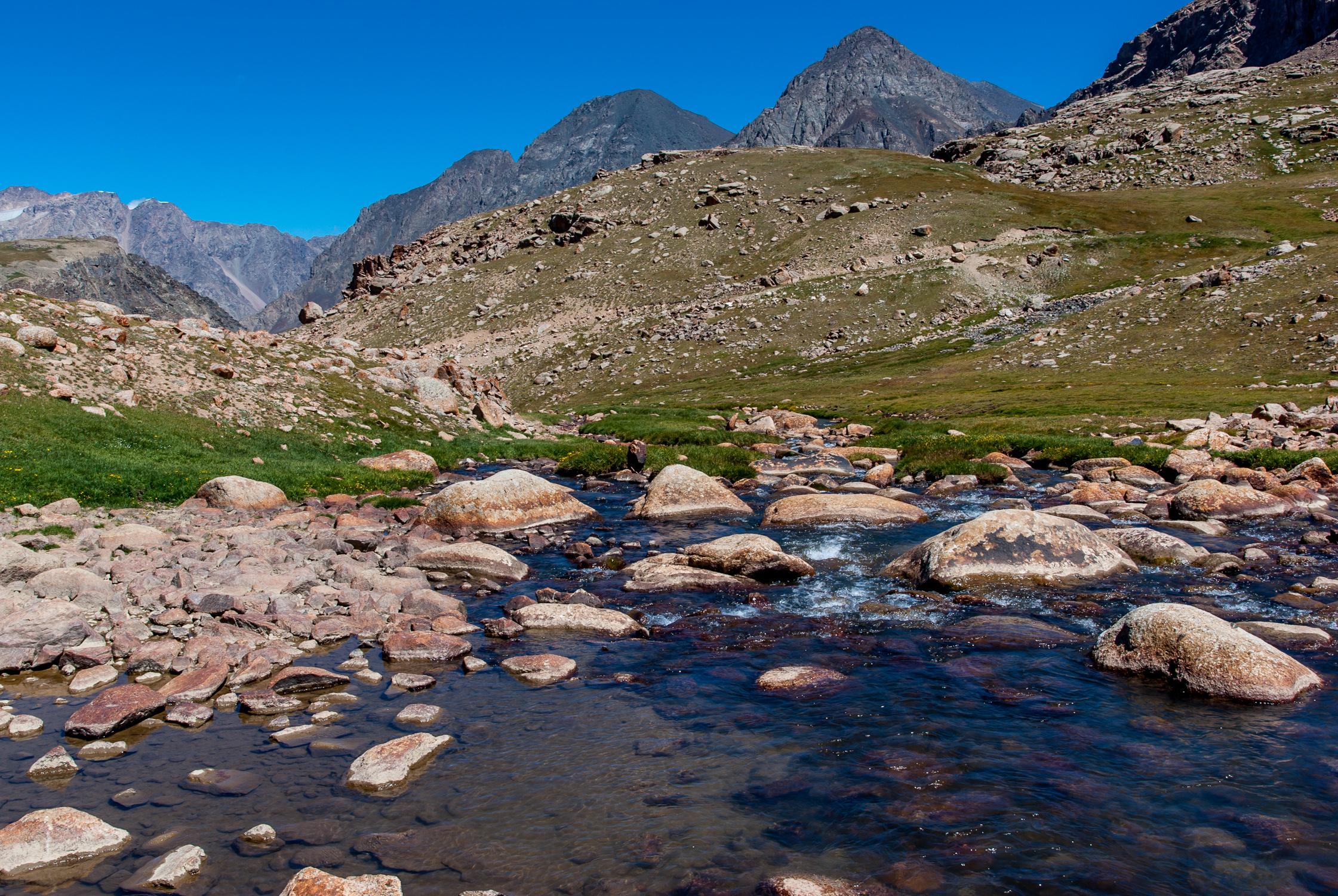 Путь к перевалу Джуку
