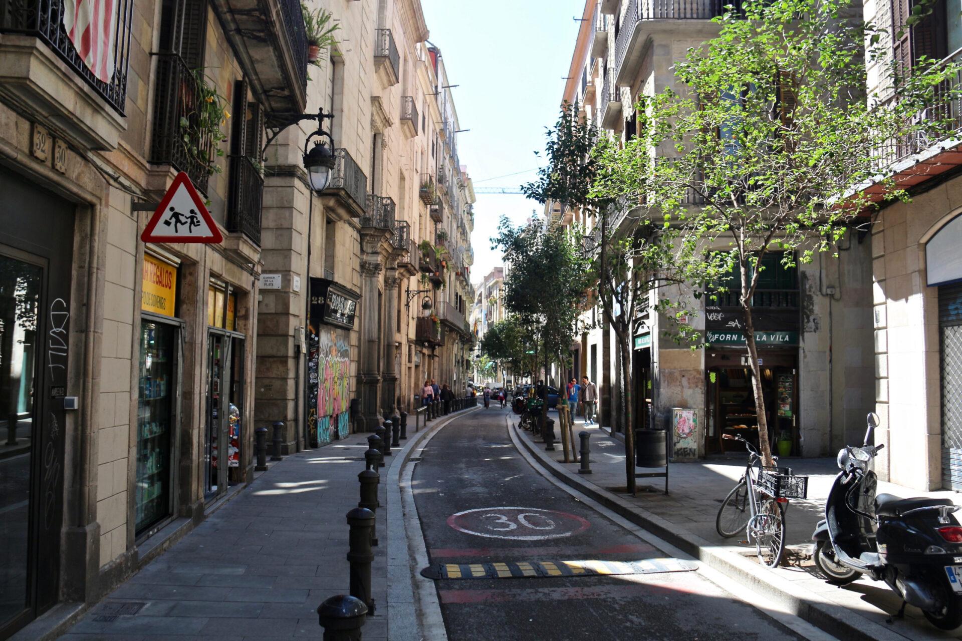 Был такой конкурс «Испанские каникулы»))) Рамбла иГотический квартал.