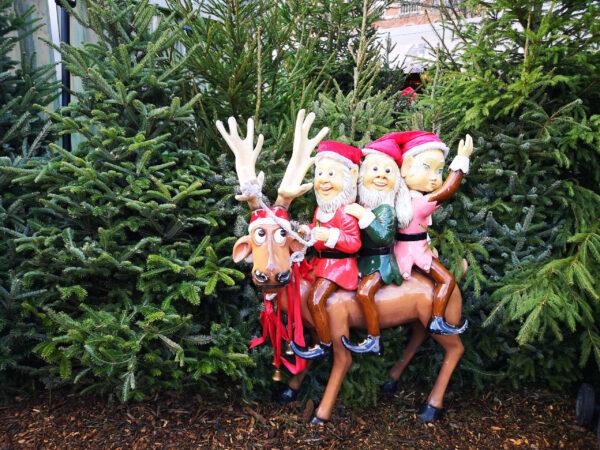 Рождественская ярмарка вLeuven