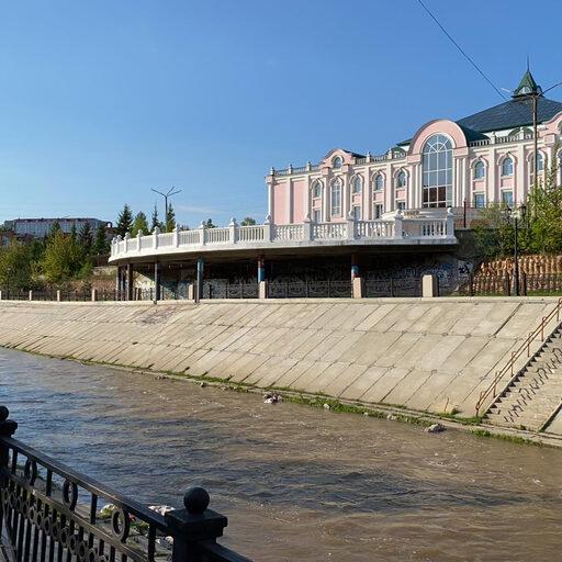 Прогулка в Красноярске вдоль реки Качи 9 мая 2020 года