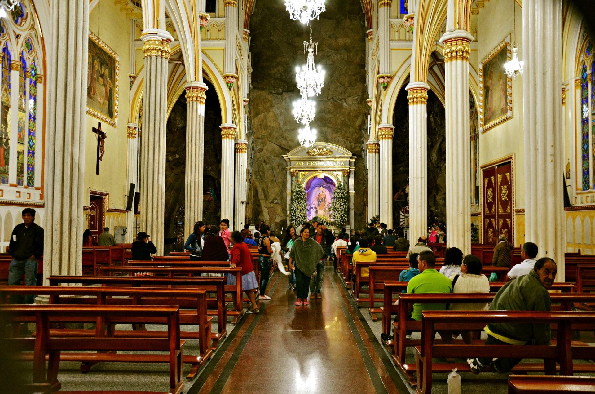 Базилика Лас-Лахас— колумбийское чудо