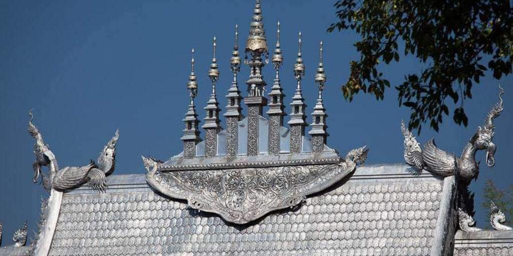 Серебрянный храм в Чиангмае.
