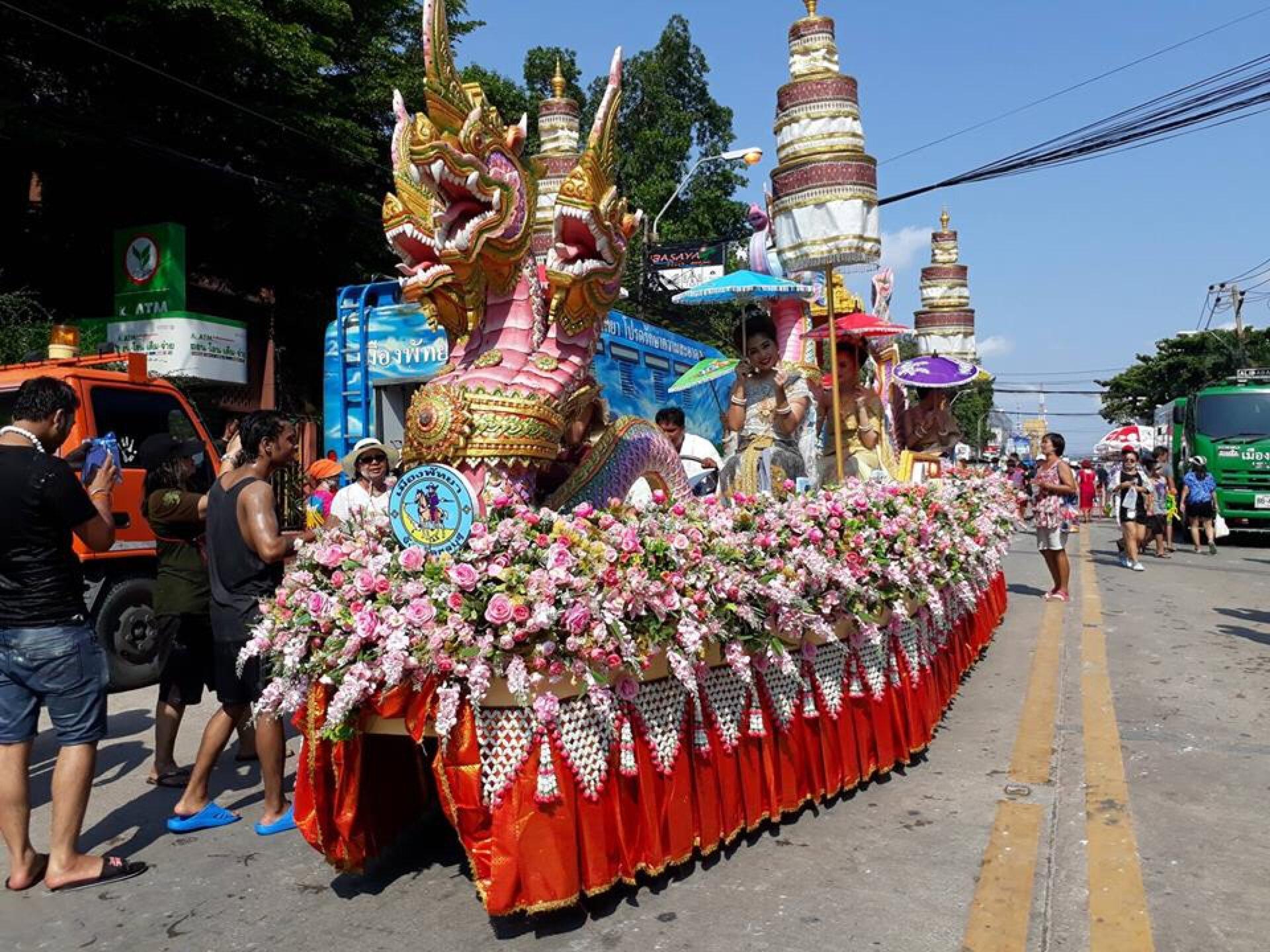 Еще немного Сонгкрана. Тайский Новый Год.
