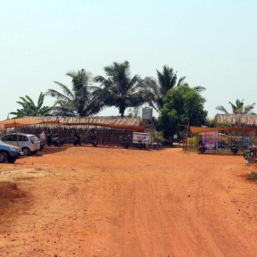 Пляж Ашвем в Гоа