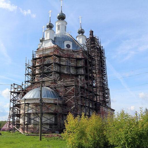 Церковь Преображения Господня в Вершилово