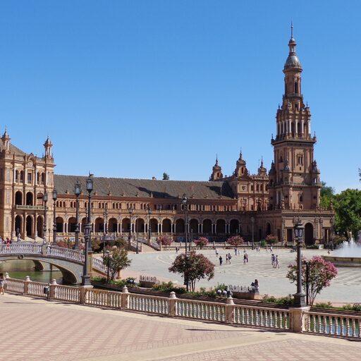 Часть 1: Сады Алькасара и площадь Испании — Короли и Халифы