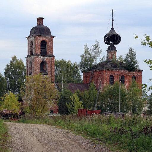 Церковь Покрова Пресвятой Богородицы в Мортках