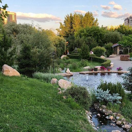 Парк «Сады мечты» в Красноярске